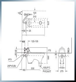 蹲式马桶 c-106+m702图片