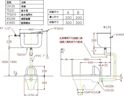 带电马桶结构图